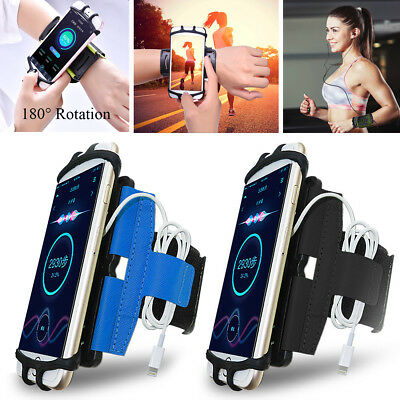 Rotation Sport Running Jogging Gym Armband Wrist Band Belts Phone Case Cover  • 12.58£