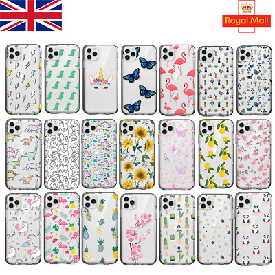 UK Soft Silicone New Phone Case IPhone 11 12 6s 7 8 X SAMSUNG S10 S20 P30 Lte • 5.28£