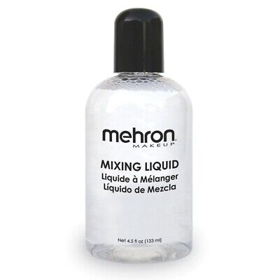 £8.63 • Buy Mehron Mixing Liquid Makeup Special Effects Stage Blend Seal Airbrush Face Paint