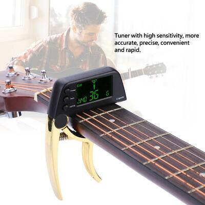 $ CDN22.94 • Buy Meideal 2 In 1 TCapo20 Capo Tuner With LCD For Guitar Bass For Stage Performance