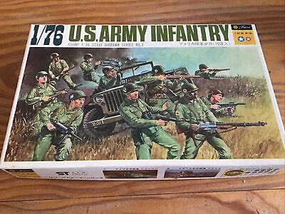 Fujimi 1/76 Model Figure Kits US Army Infantry Model Kit No.D3-105 New Boxed • 0.99£