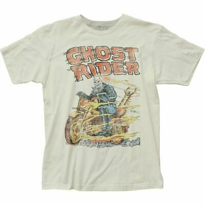£13.46 • Buy Ghost Rider Hell On Wheels T Shirt Licensed Marvel Comic Book Tee Vintage White
