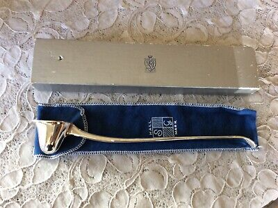 S & G Hallmark Silver Plated Candle Snuffer-England With Box & Pouch MIB • 9.47£