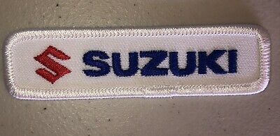 """$1.99 • Buy Suzuki Embroidered Patch 1x3.5"""" Motorcycles"""