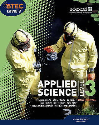 £8.50 • Buy BTEC Level 3 National Applied Science Student Book By Ellen Patrick, Shirley...