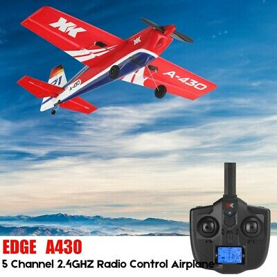 £88.98 • Buy XK A430 2.4G 5CH Brushless Motor 3D6G System RC Airplane Aircraft UK