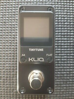 $ CDN24.99 • Buy Kliq Tinytune - Mini Guitar Tuner Pedal