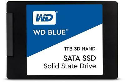WD Blue 3D NAND 1TB 2.5  SSD 1TB Capacity SATA III Interface 2.5  Form Factor • 94.99£