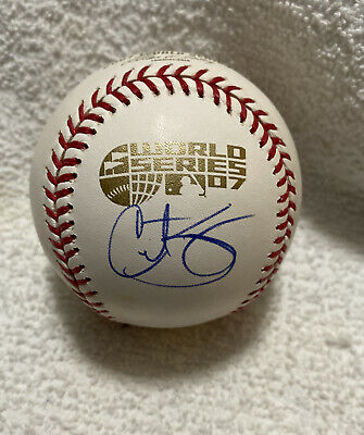 $ CDN80.81 • Buy Curt Schilling Signed Autographed 2007 World Series Baseball BOSTON RED SOX
