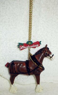 $ CDN12.69 • Buy Budweiser Clydesdale Figural Ornament Beautiful New
