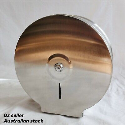 AU51 • Buy New Stainless Steel Wall Mounted Bathroom Toilet Paper Roll Holder Dispenser