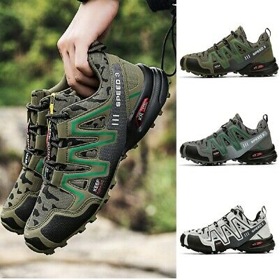 £25.56 • Buy Mens Running Shoes Outdoor Off-Road Athletic Shoes Trekking Lace-Up Sports Shoes