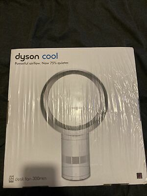 Dyson AM06 12  Desk Fan - White/Silver • 199£