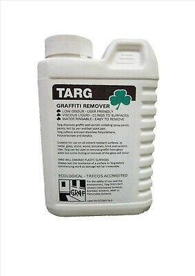 £12.79 • Buy Graffiti Remover Fast Acting Varnish Remover, Spray Paint, Rinses Off X 1L