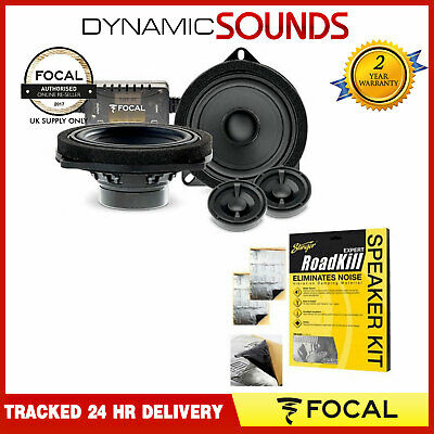 Focal IS BMW 100L - 4  2-way Component Speaker Upgrade Kit For BMW 1 Series • 229.99£