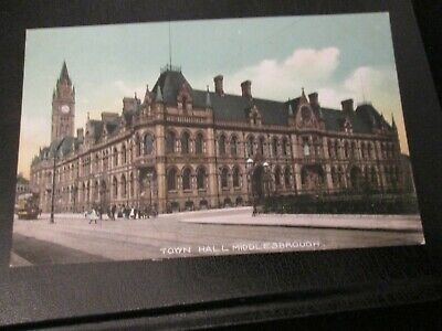 £3.99 • Buy Postcard Of Town Hall, Middlesborough (unposted)