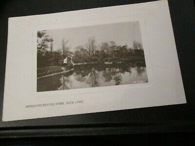 £3.99 • Buy Postcard Of Middlesborough Park, Duck Lane PS228-1 (1910 Posted RP)