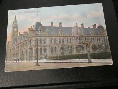 £2.99 • Buy Postcard Of Town Hall, Middlesborough (posted)
