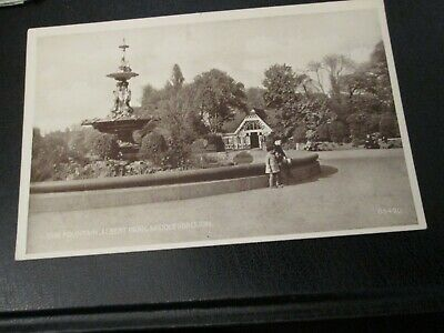 £2.99 • Buy Postcard Of The Fountain, Albert Park, Middlesborough G8420 (Unposted)