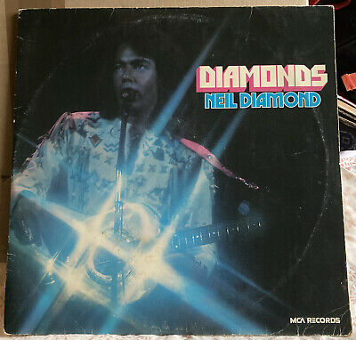 NEIL DIAMOND : Diamonds LP 2 X VINYL Gatefold VG+ • 4.80£