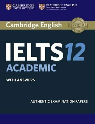 £12.62 • Buy Cambridge IELTS 12 Academic Student's Book With Answers: Authentic Examination,