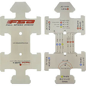 AU34.82 • Buy FSA Headset Guide Sizing Gauge, 1  And 1-1/8