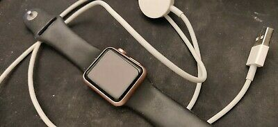 $ CDN6.99 • Buy Apple Watch - Pink Body - Series 1 - 38mm - Used - NO RESERVE & FREE SHIPPING!