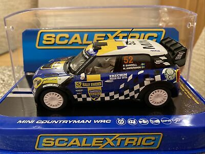 Scalextric MINI Countryman WRC Rally Car With Lights & DPR Very Rare • 59.95£