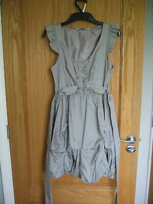 New Look Ladies Summer Puff Ball Dress Fully Lined Size:8 Vgc • 1.50£