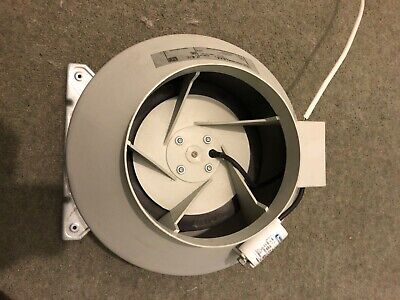Systemair RVK 8 Inch A1 (200mm) In-Line Ducting Fan (796M3/Hour) Hydroponics • 0.99£