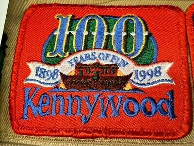 $18 • Buy Kennywood 1998 Anniversary 100 Year Noah Ark PA Roller Coaster Park Patch