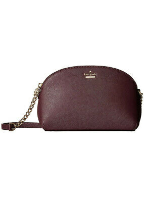 $ CDN94.02 • Buy KATE SPADE CAMERON STREET BLOSSOM HILLI CROSSBODY Bag Purse $158 Deep Plum