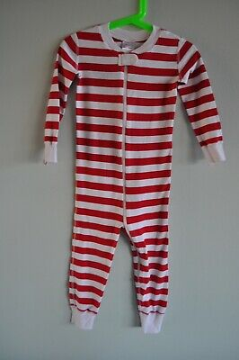 $13.98 • Buy Hanna Andersson Pajamas Striped One Piece Long Sleeve Size 3T/90cm