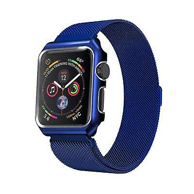 AU18.99 • Buy Magnetic Stainless Steel IWatch Band Strap + Case Apple Watch 6 SE 5 4 3 2 1 MM