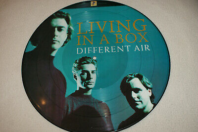 Living In A Box  **  Different Air  **  Picture Disc  **  12'' Vinyl Record   • 4£