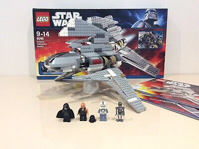 Star Wars Lego 8096 Emperor Palpatine's Shuttle 100% Complete Box Instructions • 79.99£