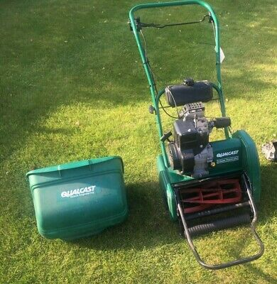 Qualcast Classic 35s Cylinder Mower Self-Propelled Petrol Lawnmower - Serviced • 225£