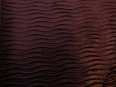 Fabric For Crafting Heavy Laminated Velvet Waves 96cm L 143cm W • 6.49£