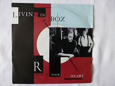 ROOM IN YOUR HEART - LIVING IN A BOX, 7  Single, 1989 EX CON+ • 2.80£