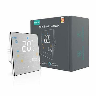AU133.43 • Buy MoesGo WiFi Smart Thermostat And Programmable Temperature Controller Metal