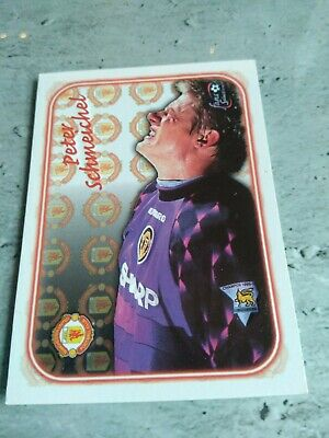 Peter Schmeichel 1997 Embossed Manchester United Card # SE3 • 5£