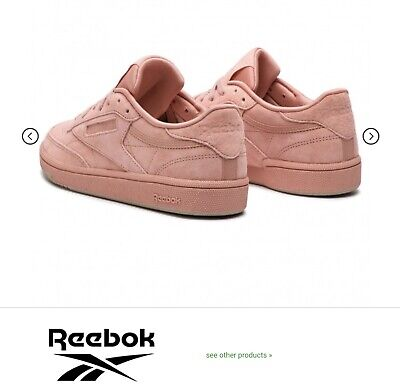 AU50 • Buy Reebok Club C 85 Stellar Pink/ Light Sand Colour New Without Tags