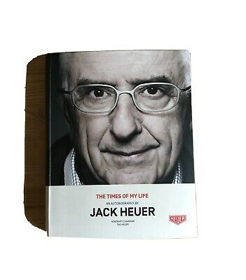 Jack Heuer Book Time Of My Life, Jo Siffert, Steve McQueen, Ayrton Senna • 160£
