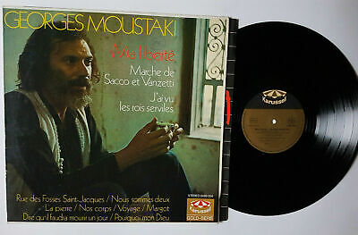 $7 • Buy Georges Moustaki - Ma Liberte / Lp Karussell Ger Rare! 60's 70's Pop Chanson Nm-