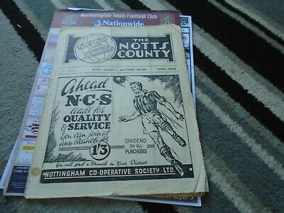 Notts County V Southend United 1949-50 • 4.99£