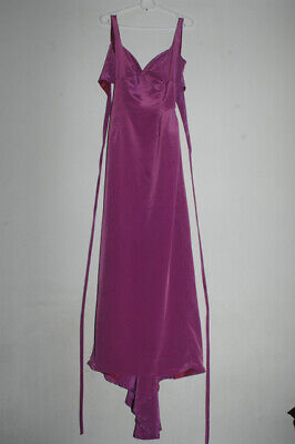 Purple Elegant  Fitted Log Dress With Tail, Party Wear Ball Gown. By Flayva  • 5£