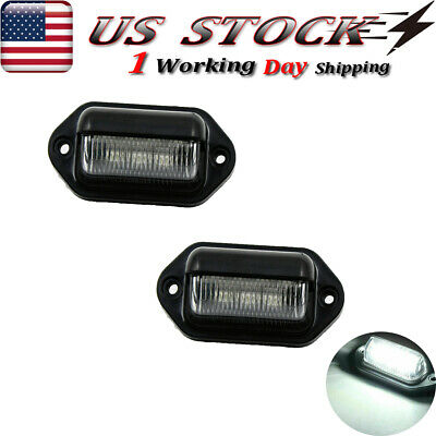 $16.97 • Buy 3X Amber Smoked LED Front Grille Grill Running Lights For Ford F150 Raptor Style