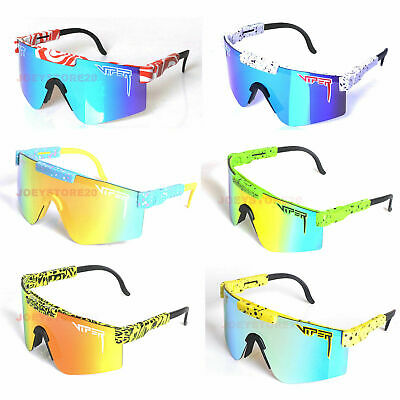 AU26.99 • Buy Pit Viper Polarized Cycling Sunglasses Sport Goggles For Men/Women Outdoor UV400