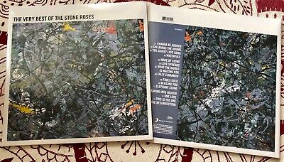Stone Roses The Very Best Of Sealed Vinyl LP I Wanna Be Adored I Am Resurrection • 24.50£