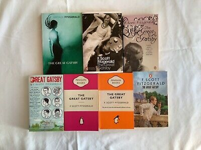 The Great Gatsby By F. Scott Fitzgerald - Various Penguin Editions New PB Books • 4£